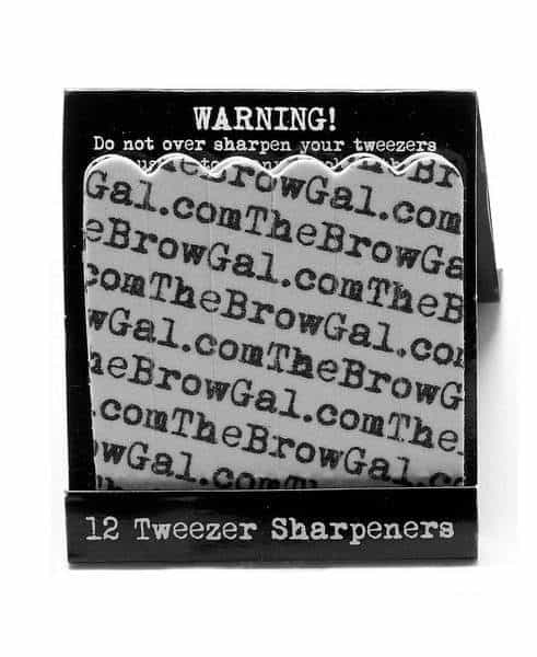 Tweezer Sharpeners The Browgal